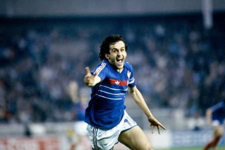 Michel Platini - European Championship of Nations 1984