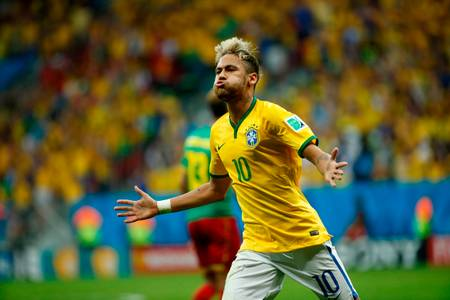 Neymar Cameroun-Brésil Coupe du Monde 2014