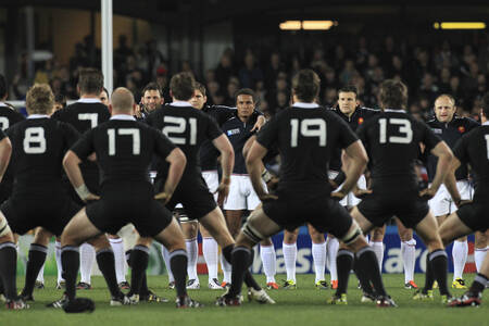 Nuova Zelanda vs Francia Coppa del Mondo di rugby 2011