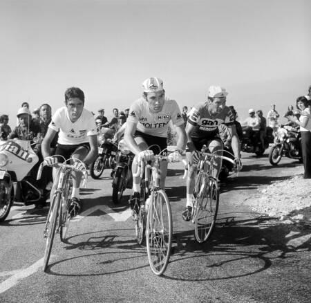 Ocana -Merckx -Poulidor sur le Tour 1972