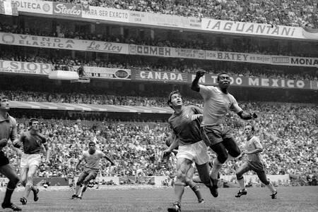 Pele Brazil-Italy 1970