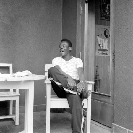 Pelé Coupe du Monde 1958