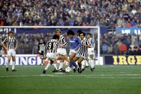Platini Maradona Juventus Naples 1984