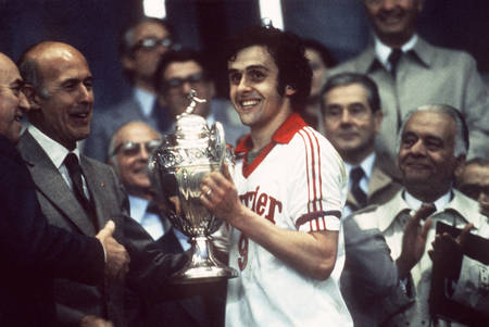 Platini Nancy-Nizza 1978
