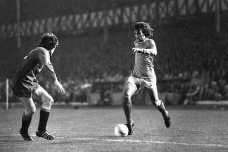 Rocheteau Glasgow Rangers gegen Saint-Etienne 1975