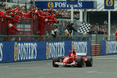 Schumacher 2004 Silverstone