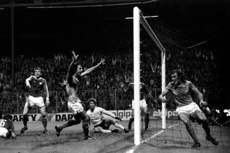 St-Etienne contre CSKA Sofia - Célébration