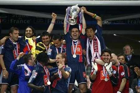 Victoire du PSG - Coupe de France 2006