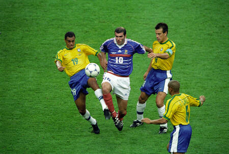 Zidane Brazil-France World Cup 1998