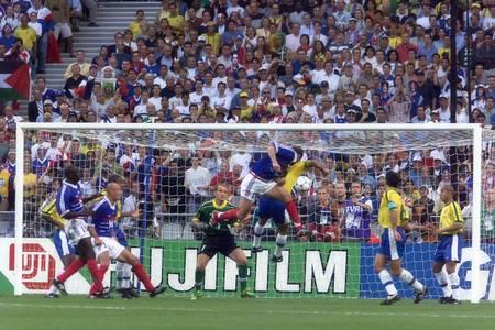 Zinédine Zidane - Finale de la Coupe du Monde 1998