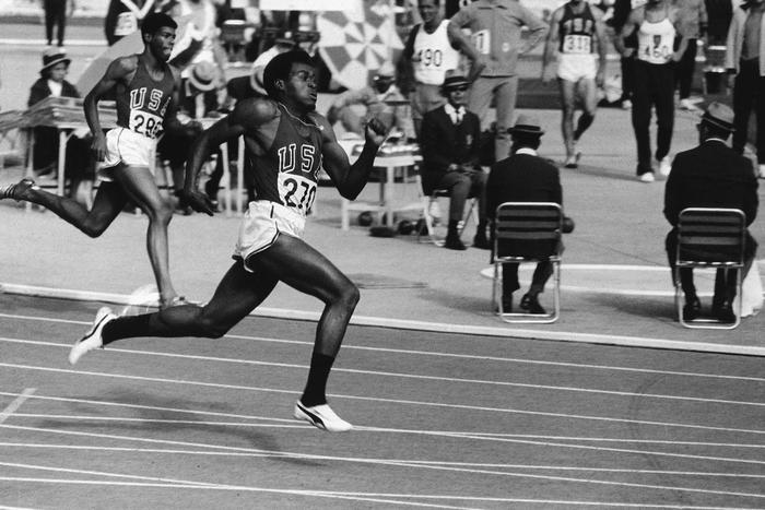 400 M Hommes Jeux Olympiques 1968