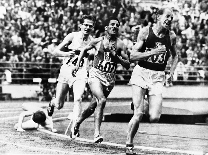 5000 M Hommes Jeux Olympiques 1952