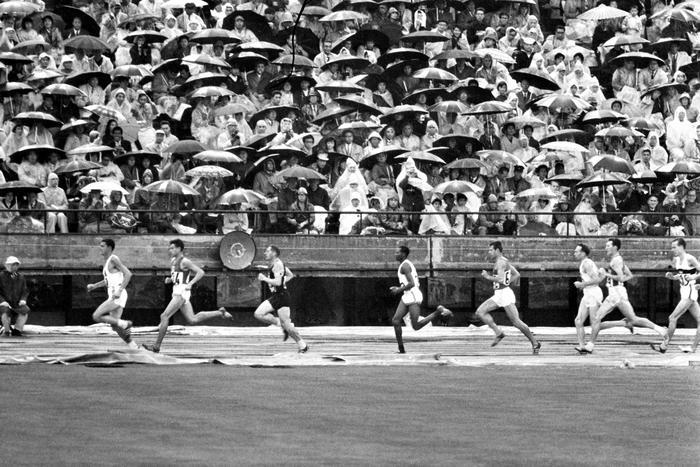 5000 M Hommes Jeux Olympiques 1964