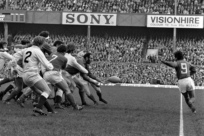 Angleterre France   Tournoi Des V Nations 1975