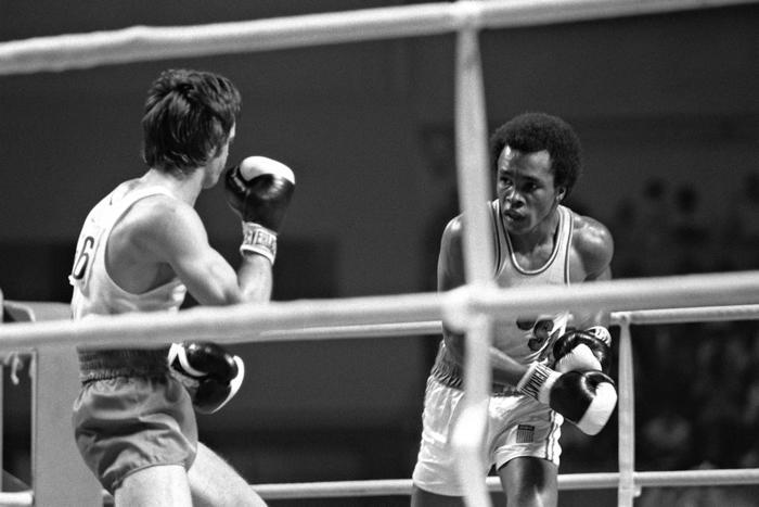 Combat De Boxe Jeux Olympiques 1976
