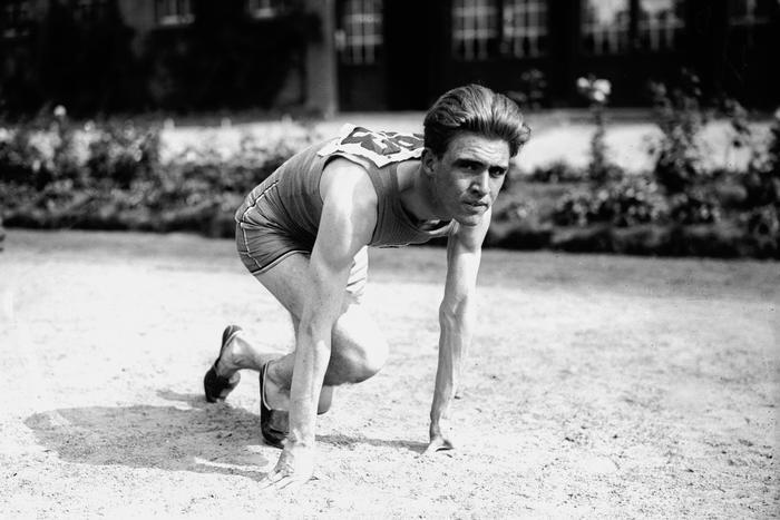 Depart 100 M Hommes Jeux Olympiques 1920