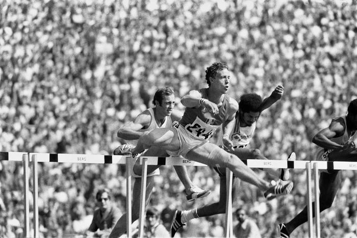 Guy Drut Epreuve Du 110 M Haies Jeux Olympiques 1972