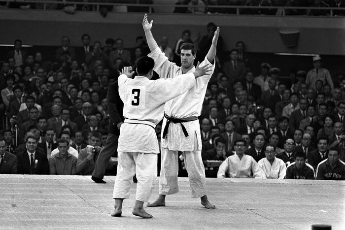 Judo Jeux Olympiques 1964