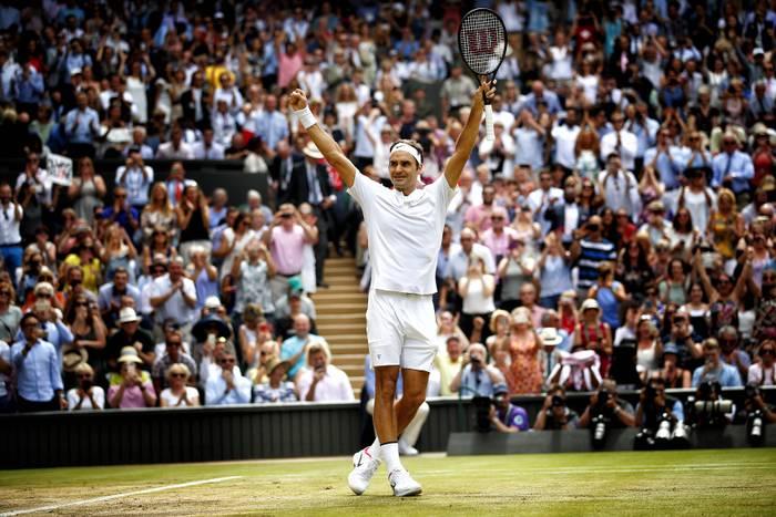 Roger Federer   Wimbledon 2017
