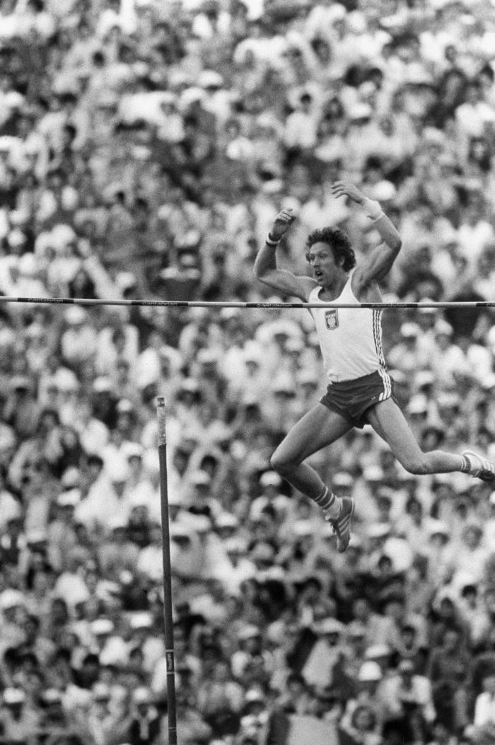 Saut A La Perche Hommes Jeux Olympiques 1980