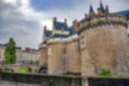 Chateau de la Cité des Ducs Nantes confinato
