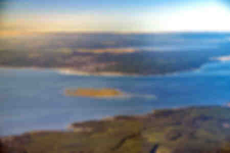 Isla de los pájaros en el corazón de la cuenca de Arcachon