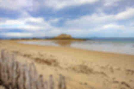 Playa de Parame y el Grand Be