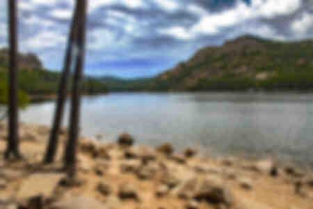Lago Ospedale Córcega