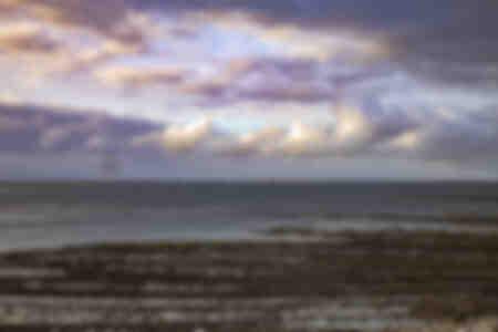 Faro de Antioquía frente a las islas de Re y Oleron
