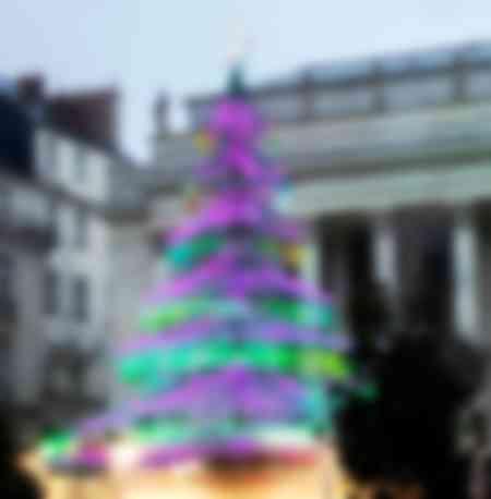 Sapin de Noël à Nantes