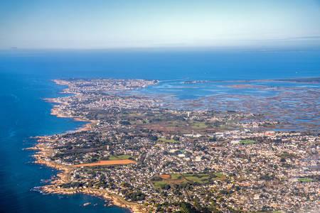 La costa selvaggia di Batz sur mer e le paludi di Guérande e Croisic