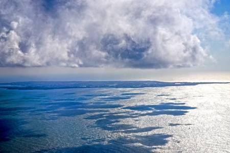 Noirmoutiers sous gros nuage
