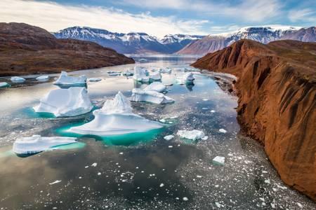 Cimetière d'icebergs