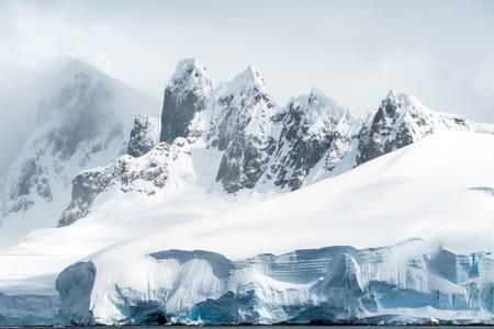 Paysages d'Antarctique
