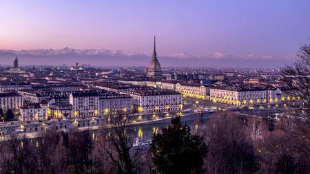 Paysage urbain de Turin