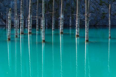 Le lac Kazakh