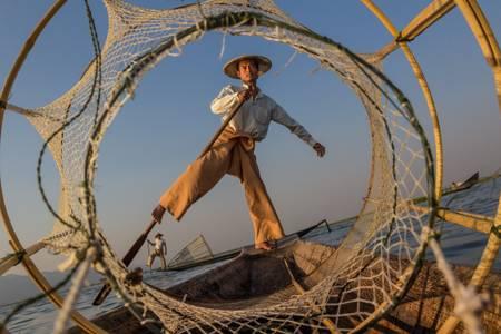 Le pêcheur birman