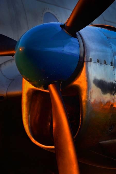 Propeller gear and air intake