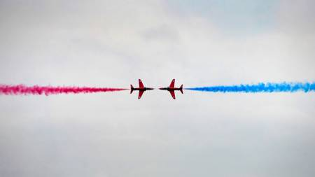 Red Arrows Acrobatics