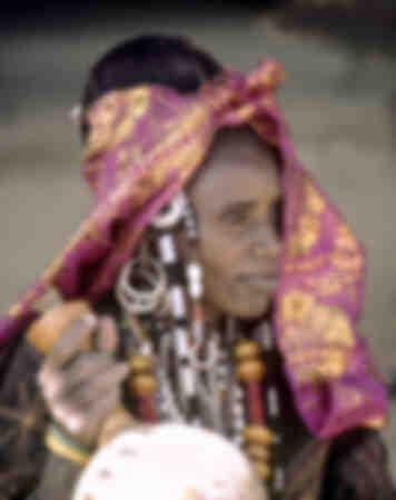 Fulani-vrouw