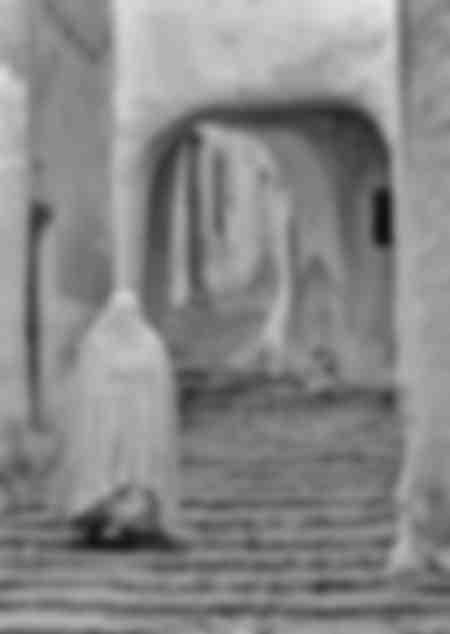 Mujeres mozabitas en Beni Isguen - Argelia