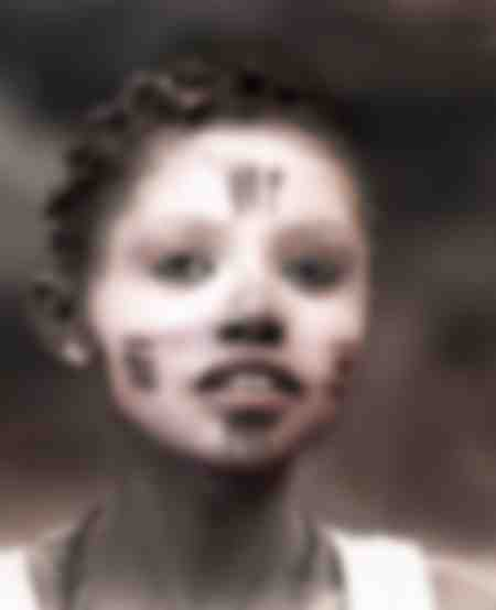 Jeune fille gabonaise
