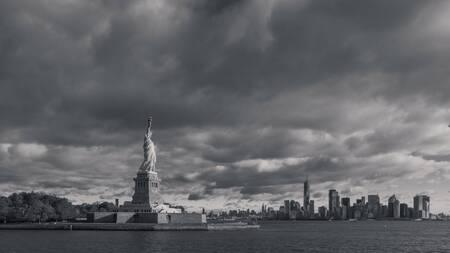 Liberté au milieu de l'orage