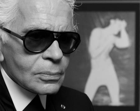Karl Lagerfeld 2010 Paris
