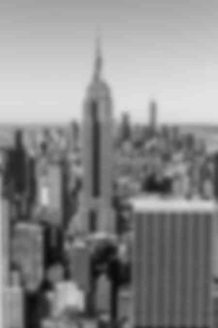 Das Empire State Building schaut zu