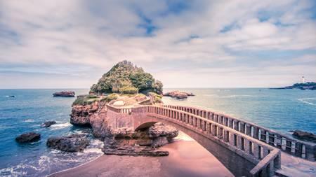 Biarritz rocher du Basta