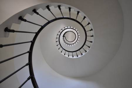 Escalier virtigineux