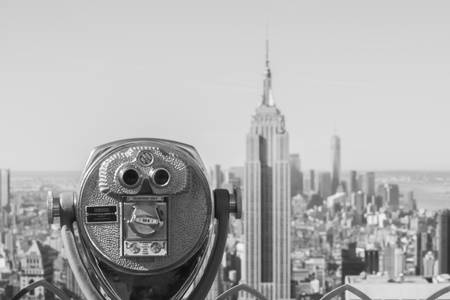 The Top Of The Rock also wears glasses