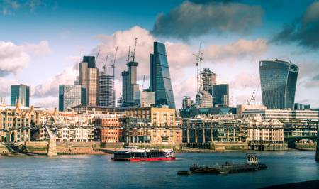 Panorama London City