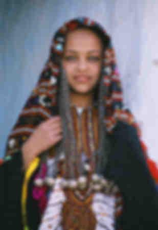 Jeune Siwi berbère
